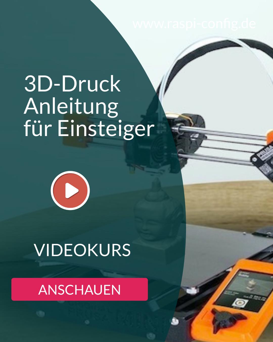 3D-Druck Anleitung für Einsteiger Banner3